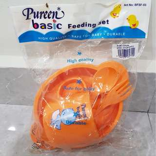 NEW UNOPENED: Pureen Basic Feeding Set
