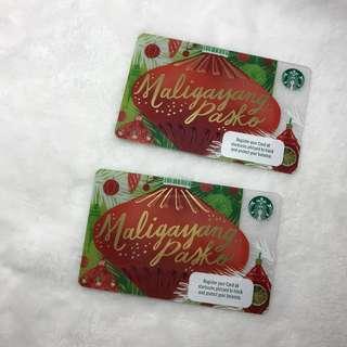 Starbucks Card - Maligayang Pasko