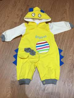 俏皮恐龍造型連身衣