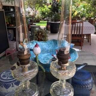 Rare Antique oil lamp