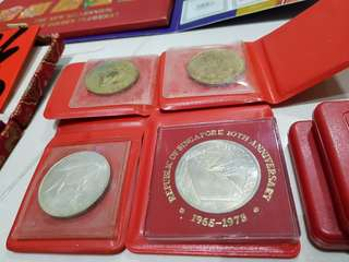 10th anniversary 1975 Coin and 1972 anniversary