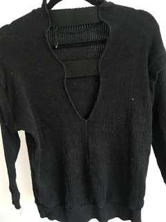 Open back Zara Sweater