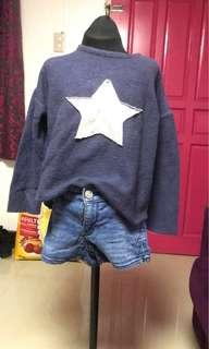 Bundle-Zara Girls Sweater Size 7-8/ Gap Kids Size 7 Regular fit