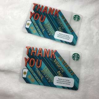 Starbucks Card PH - Thank You V2.0