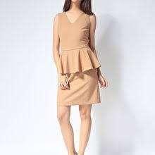 G2000 tan dress
