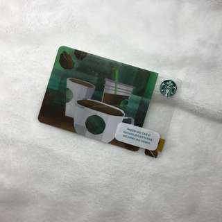 Starbucks Card PH - Green coffee