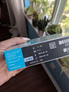 Acuvue Oasys Daily Contacts