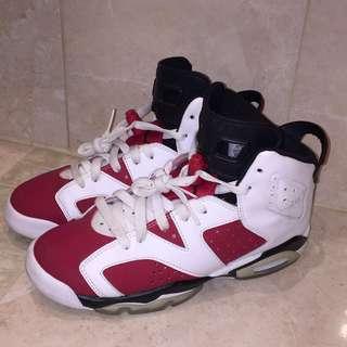 Jordan 6 Carmines