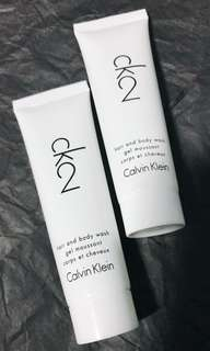 Calvin Klein hair & body wash gel