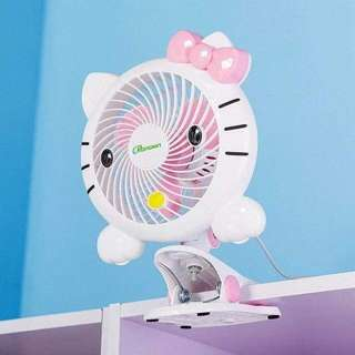 Hello Kitty Fan with Clip