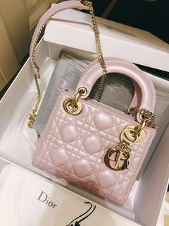全新Mini lady dior bag