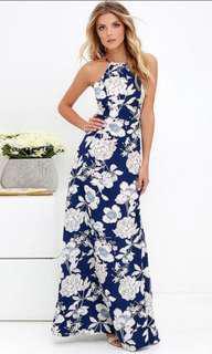 (BNWT) Floral Maxi Dress