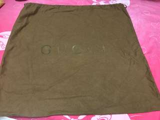 Gucci dust bag (100% real) 50x50cm