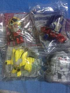Happy Meal Mcdo Transformer