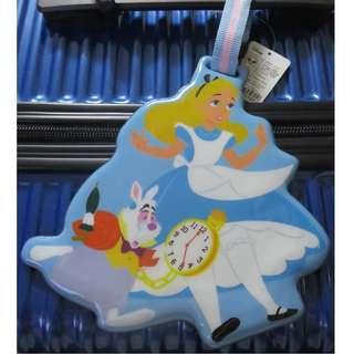 Disney迪士尼行李吊牌 小熊維尼 大眼怪 奇奇蒂蒂 玩具總動員 愛麗絲