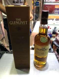 Glenlivet 12 year old 700ml 洋酒