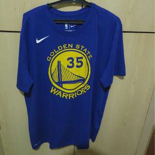 Nike Drifit Tee (Golden State Warriors)-Kevin Durant