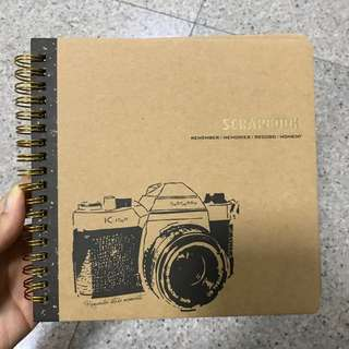 Mini Scrapbook (12 pages)