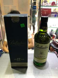 Ballantine's 17year old blended scotch whisky 700ml 洋酒