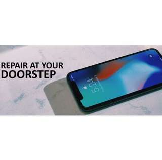 Repair your iPhone at your house today!