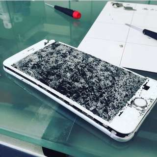 OMG! GOSh! Cracked iPhone? Pm us now!
