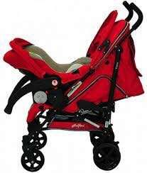 Halford baby car seat carrier & stroller (travel system)