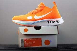 🚚 Nike Zoom Fly Mercurial Flyknit X OFF-Whit A02115-001 世足系列