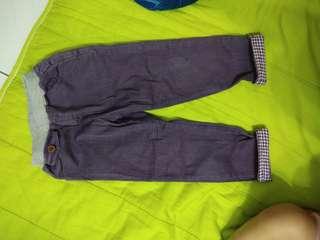 男童長褲紫色,二手