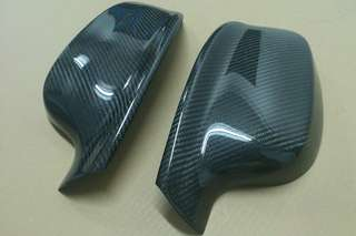 BMW X3,X4,X5,X6 CARBON CLIP ON MIRROR CAPS