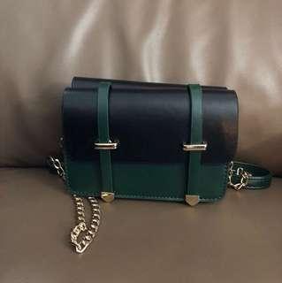 🈹混色雙面斜孭袋
