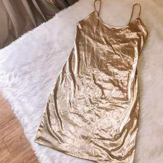 Gold Birthday Dress