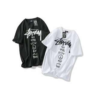 Stussy Tee in blk or white