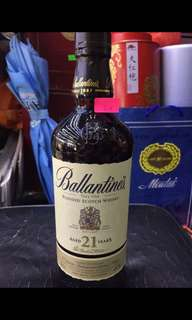 Ballantine's 21 year old blended whisky 700ml Scotland 洋酒