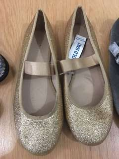 Brand New Old Navy Gold Flats
