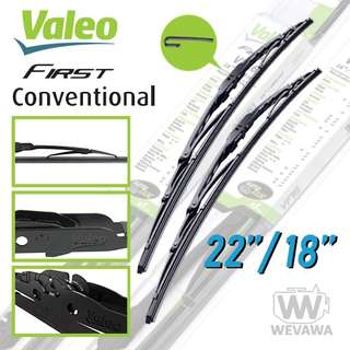 Valeo Wipers for DMax Mux Spectra Galant Pajero Sport
