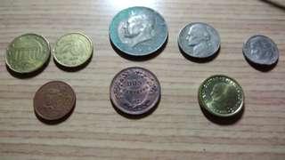 🚚 歐洲美洲硬幣雜燴包