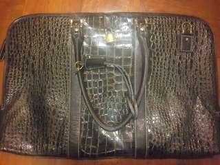 全新型格鱷魚深紫色紋公事包, LV PRADA Macbook