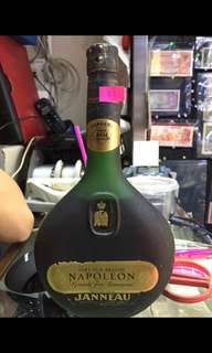 Janneau napoleon grande fine Armagnac old bottling presumed to be 700ml 洋酒