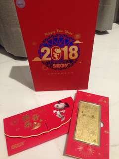 Red Packets Snoopy