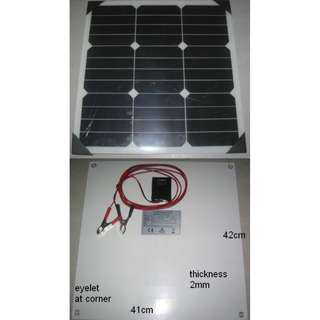 Solar Panel 30W 18V Semi Flexible