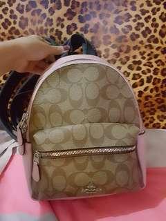Original Mini charlie coach backpack