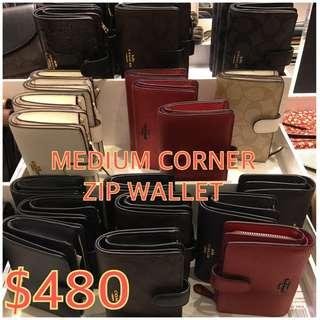 $480 Coach medium wallet