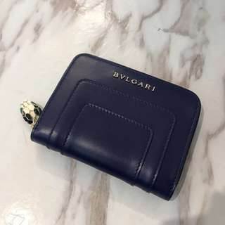 Bvlgari zip coin wallet