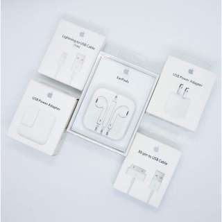 Apple accessories complete here :) Compatible for iphone, Ipad and itouch