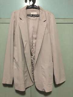 Forever 21 gray blazer