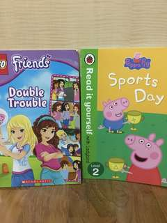 Peppa Pig and LEGO Friends