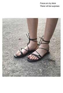 🚚 交叉綁帶涼鞋