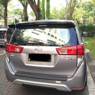 Car rental cheapest/ sewa mobil termurah innova reborn 2017
