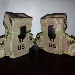 LIKE NEW GENUINE! USGI Military M16 M4 ALICE LC-1 Small Arms Case Ammo Pouch (Airsoft) (Collection)