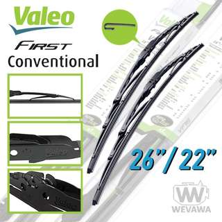 Valeo First Conventional Wipers for Civic